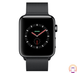 Apple Watch Series 3 42mm (GPS plus LTE) Stainless Steel Milanese Loop Crna Prodaja