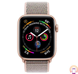 Apple Watch Series 4 Sport 44mm (GPS only) Aluminium Gold Sport Loop Band Pink