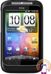 HTC WildFire S  Crna