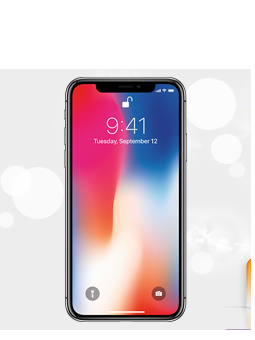 Apple iPhone X 256GB Siva